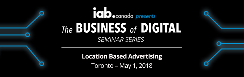 Location Based Advertising - Toronto - May 1