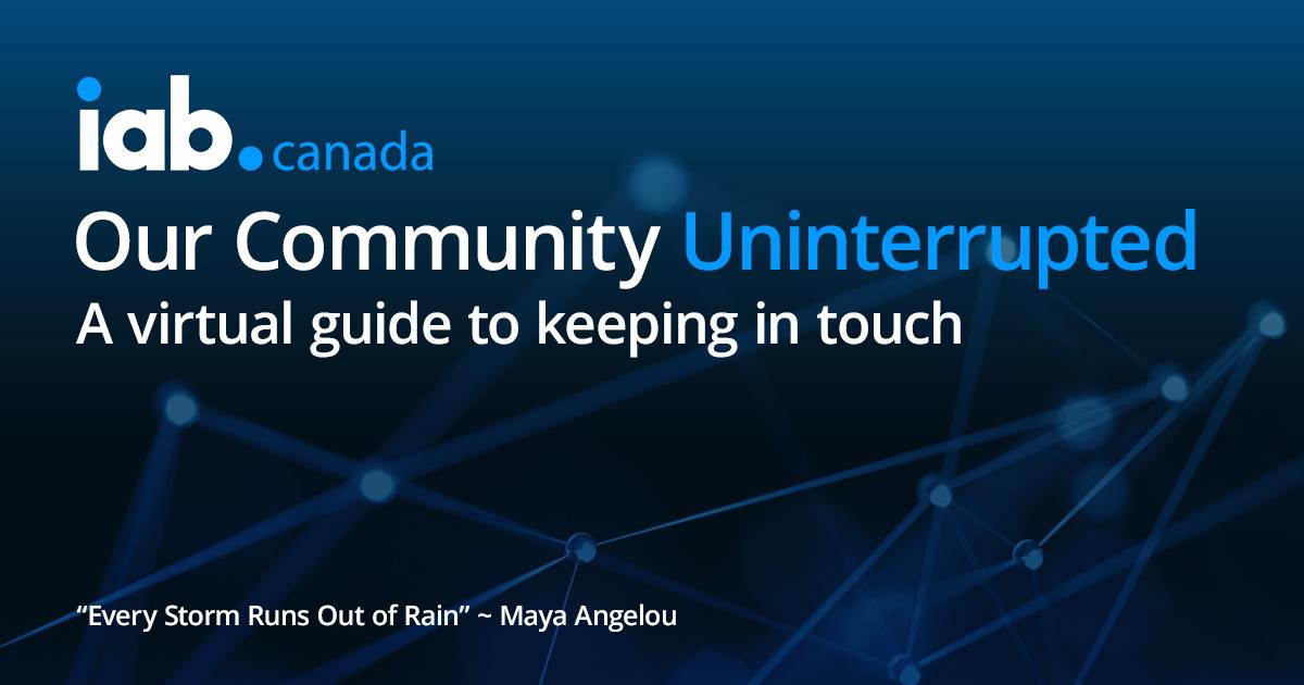 Community Uninterrupted April 20-24