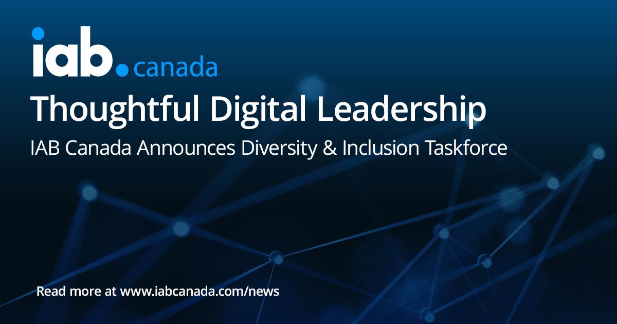 IAB Canada Announces Diversity and Inclusion Taskforce